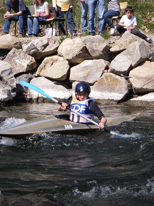 championnat d'Auvergne slalom 2011