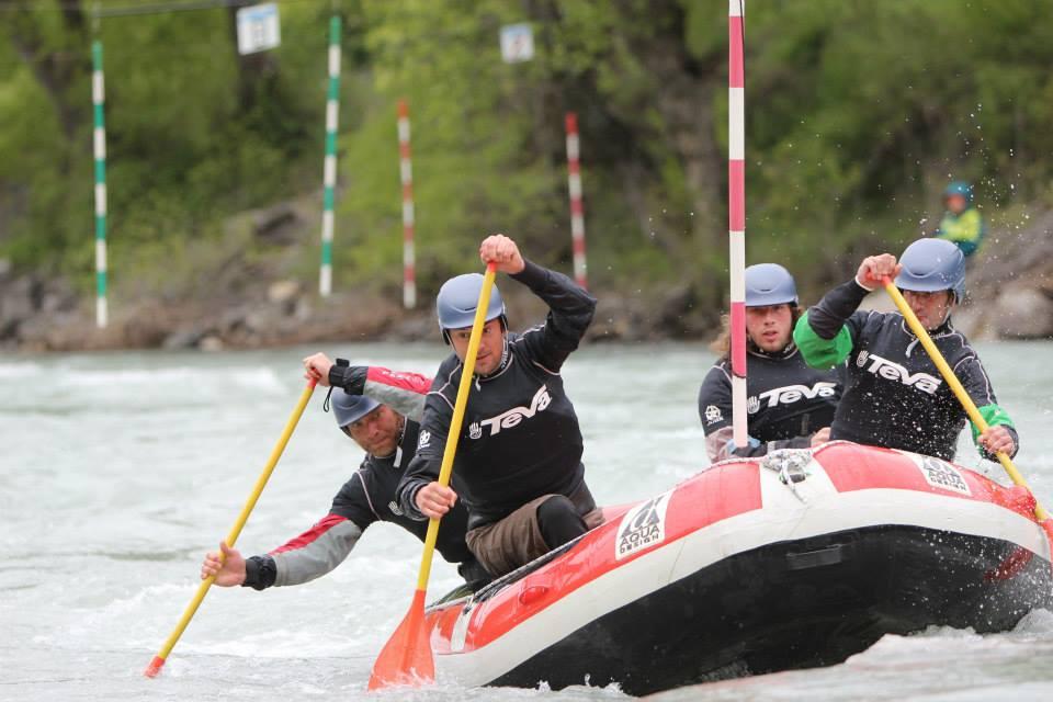 épreuve de slalom