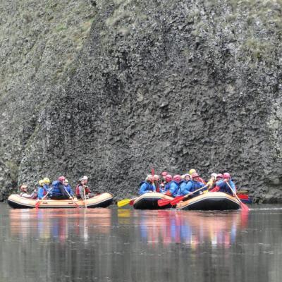 Baptême rafting   Haut-Allier  2013